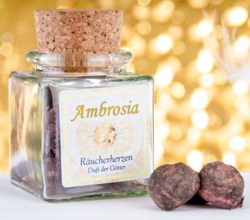 Räucherwerk Ambrosia Herzen Berk HS-100-H Duft der Götter Esoterik