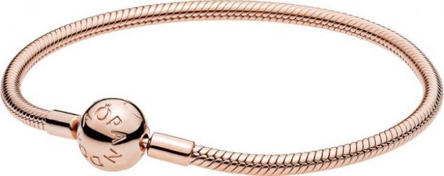 Pandora Armband rose 580728 Kugelverschluss rosé vergoldet