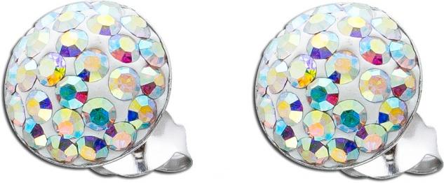 Kristall Ohrringe Aurore Boreale Kristallohrstecker Silber 925