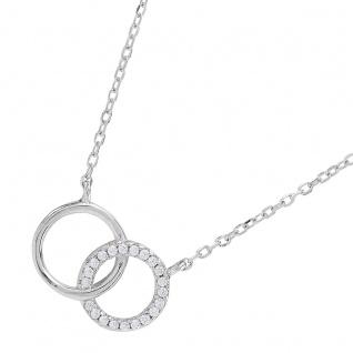 JOANLI NOR 245052 Halskette Anna Sterling Silber 925 Länge