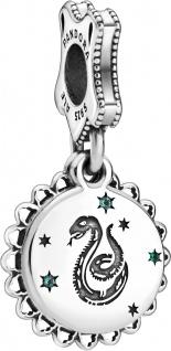 Pandora SALE Harry Potter Charm Anhänger 798620C01 Slytherin Silber