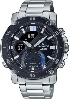Casio Edifice Herren Uhr ECB-20DB-1AEF Edelstahl