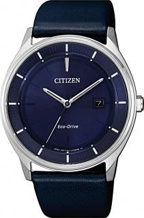 Citizen Uhren BM7400-12L Eco Drive Solar Lederarmband