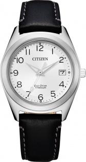 Citizen FE6150-18A Solar Damenuhr Titan Leder Mineralglas
