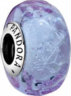 Pandora Colours Charm 798875C00 Wavy Lavender Silber 925 Lavendel