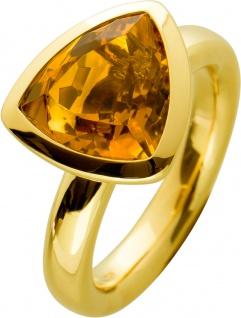 Antiker Edelstein Ring, Antik, Gelbgold, 750, Citrin ca 3ct, Stuttgart