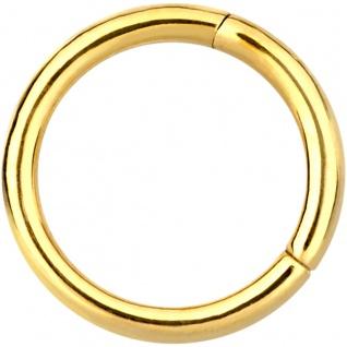Gold Piercing Ring günstig online kaufen bei Yatego