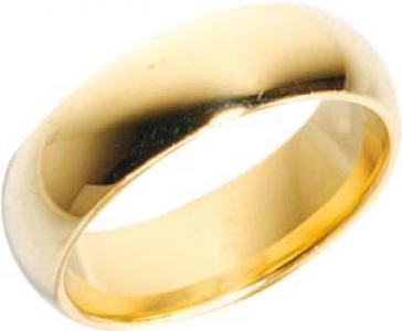 Trauring Gold 585 Breite 7, 0 mm und Stärke 2, 2mm