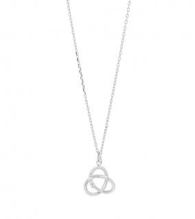 JOANLI NOR Halskette ELINANOR 246 008 Silberkette Knotenanhänger