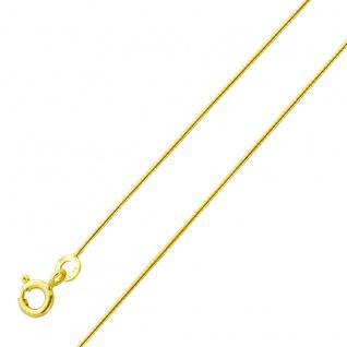 Halsreif Spirale Goldkette Gelbgold 333 0, 8mm Breit massiv poliert
