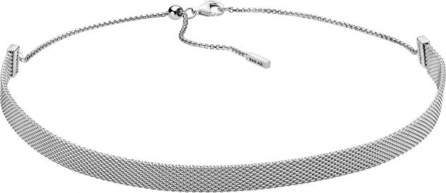 PANDORA Choker 398252-38 Mesh Halsband Reflexions Sterling Silber