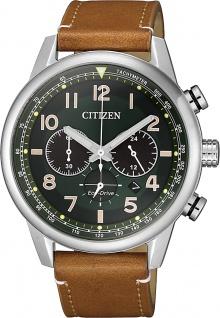 CITIZEN Herrenuhr CA4420-21X Chronograph Lederband Solar - Vorschau
