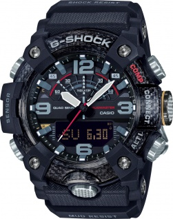 CASIO Herrenuhr GG-B100-1AER G-Shock schwarz Bluetooth Kompass