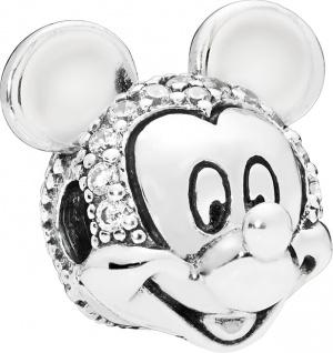 PANDORA Disney Clip Charm 797495CZ Silber 925 Shimmering Mickey