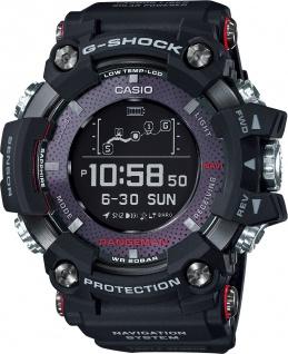 CASIO Herrenuhr GPR-B1000-1ER Rangeman schwarz Bluetooth Solar Kompass