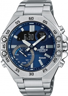 Casio Edifice ECB-10D-2AEF Herren Uhr Quarz Analog Digital Chronograph