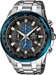Casio EDIFICE EF-539D-1A2VEF Chronograph Herrenuhr Edelstahl blaue