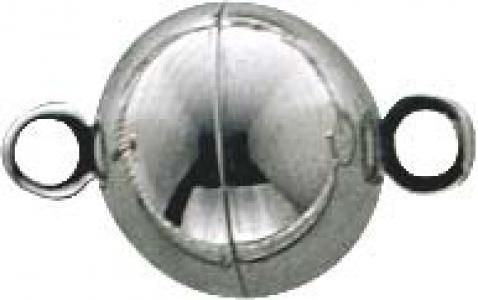 Magnetverschluss Edelstahl Kugel Form rund Ø 10mm