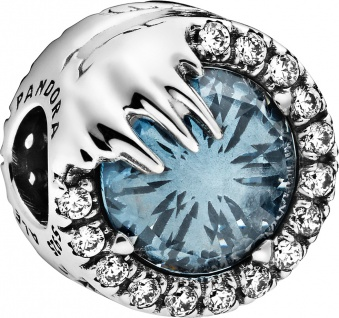 Pandora Disney Charm 798458C01 Frozen Winter Crystal