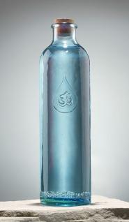 OmWater Glasflasche Karaffe Berk W-360 Wasserflasche 1, 2 Liter Höhe