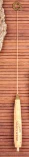 Ökotensor Midi Einhandrute Berk KH-429 vergoldet Messing Korkgriff