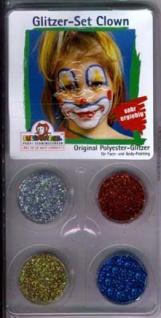 28112 Glitzer Set Clown, 8g (2g pro Farbe), enthält die Farben: - Vorschau