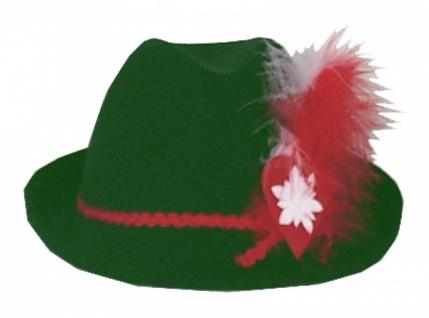 Hut aus Filz 1942 Robin , Jäger oder Trachten Hut, grün...