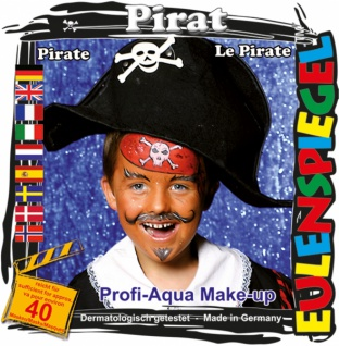 Schmink Set es204023 Motiv Set Pirat,