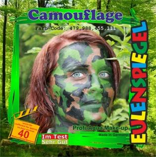 Schmink Set es204689 Motiv Set Camouflage,