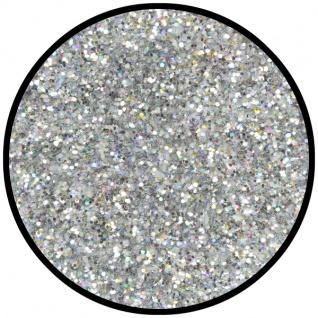 es902042 Silber Juwel (mittel), holografischer Glitzer... - Vorschau