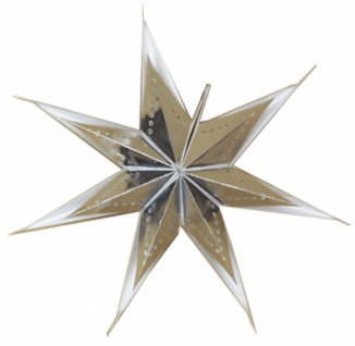 821907 Weihnachtsstern aus Pappe, für Beleuchtung bis 25 Watt geeign