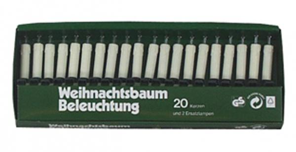 8227 Elektrische Baumbeleuchtung mit GS Zeichen: 6m grünes Kabel,
