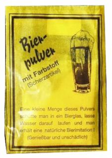 8500 Bierpulver: 1 Teelöffel in ein Glas geben und mit Wasser auffül - Vorschau