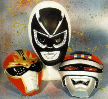 3077 Space Maske aus Plastik, nur noch in schwarz lieferbar