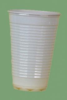 751601 100 Stück Plastikbecher für 0, 2l Getränke, weiß Lize