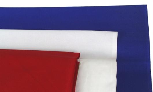 1488 Fahnenstoff, 80cm breit, in schwarz, rot, ockergelb, blau u - Vorschau 2