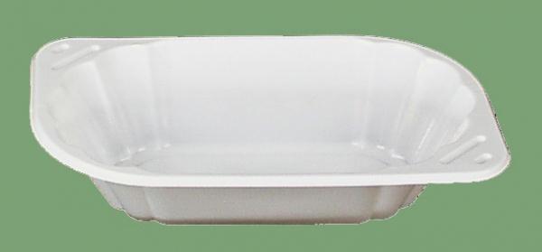 751302 10 Stück Imbißschalen aus Plastik, 100x173x38 mm groß, z.B. f
