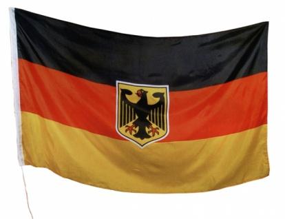 """7392 Stoff Fahne """" Deutschland"""", ca. 90x150 cm groß, als Ba"""