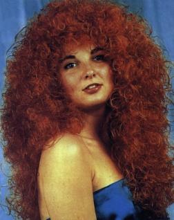"""Perücke 4359 Perücke, """" Nixe"""", langes Haar, gelockt"""