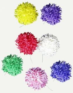 2351 Große Chrysantheme aus Papier, in rot, weiß, lila und blau...