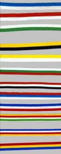 76131 1m Nationalband aus Seide, 25mm breit, Vier