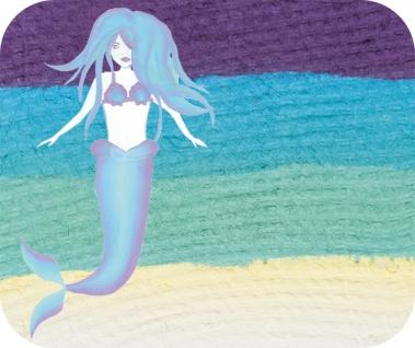 es340516 Split Cake Mermaid