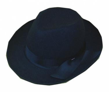 Hut aus Filz 19901 Maffia Boss Hut, in schwarz, mit Band...
