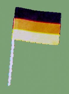 """75281 10 Stück Flaggenpicker """" Deutschland"""", ca. 28x25mm groß..."""