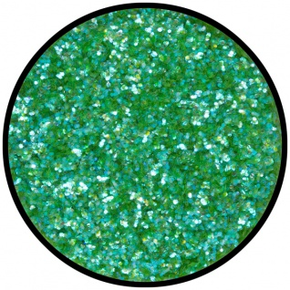 es902493 Polyester Streuglitzer Frosted Green...