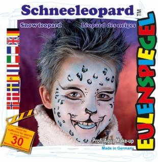 Schmink Set es204634 Motiv Set Schneeleopard - Vorschau