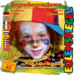 Schmink Set es204368 Motiv Set Regenbogenclown - Vorschau