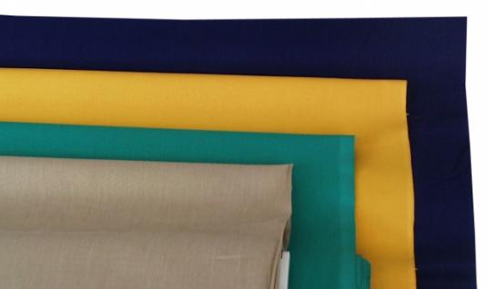 14810 Baumwoll Leinen, 140cm breit, in weiß, blau,