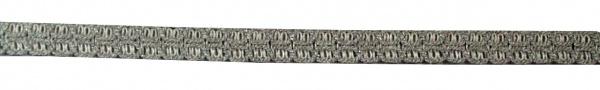 1452 Litze, 1, 5mm stark, in gold, silber und weiß glitzer, Preis per Meter