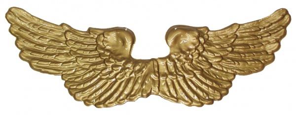 2564 Engelsflügel aus Plastik, in gold und silber...